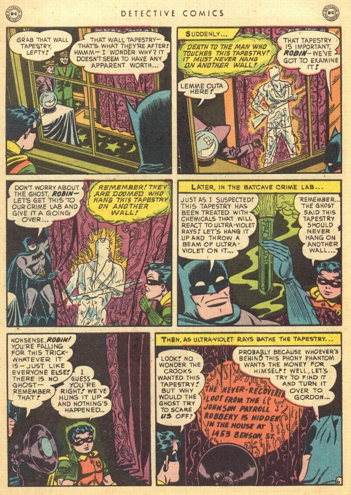 Read online Detective Comics (1937) comic -  Issue #150 - 7