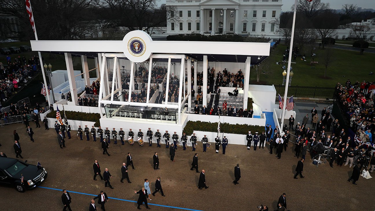 2017 presidential inauguration date