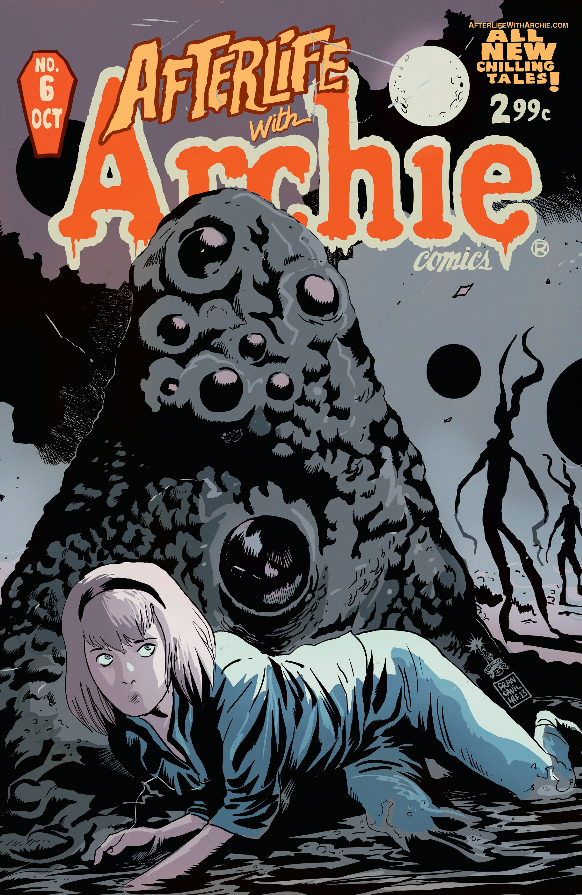 Read online Afterlife with Archie comic -  Issue #6 - 1