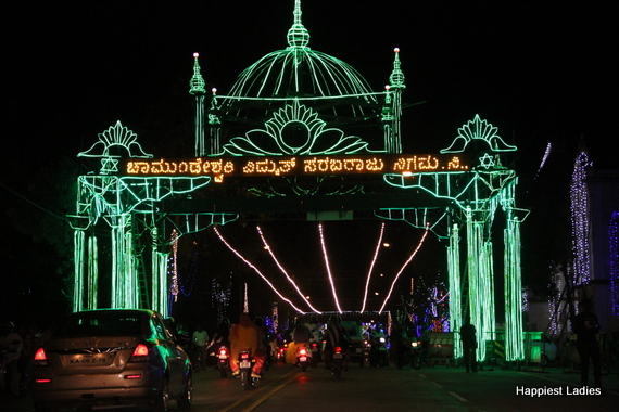 Mysore Dasara Street Lightings13
