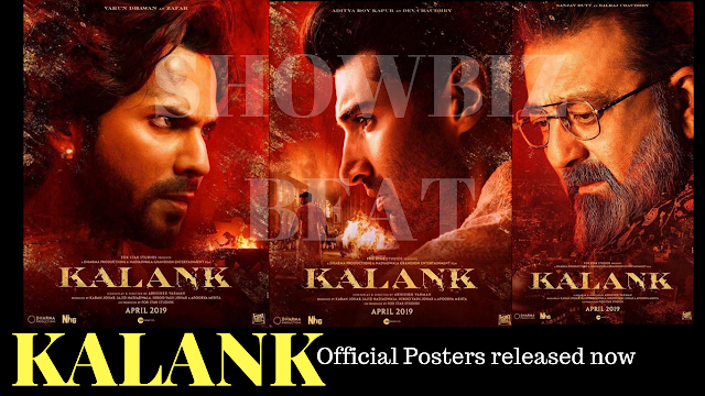 KALANK Official Poster, Release Date and Budget