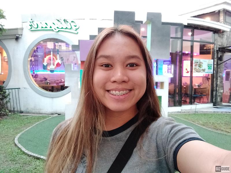 Realme C1 Daylight Selfie