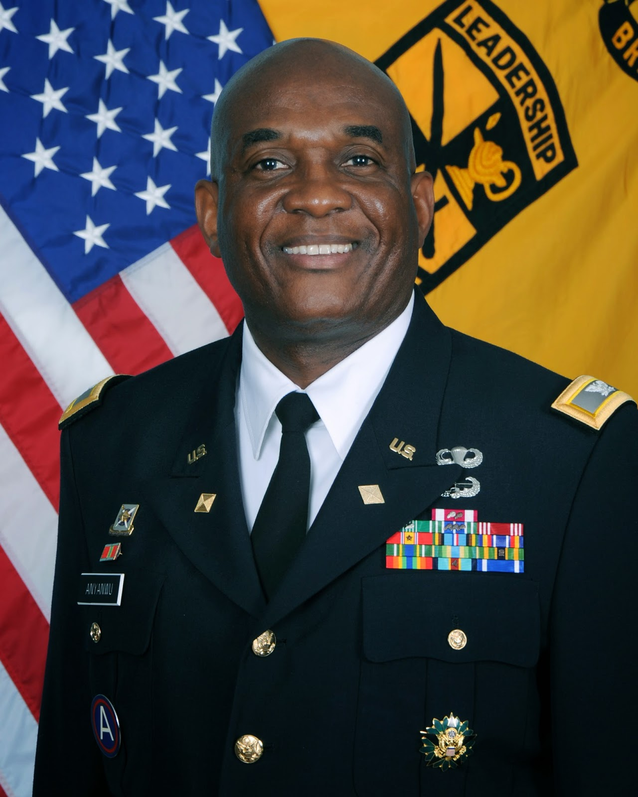Colonel Lawrence Anyanwu Us Army Nigeria Yesterday