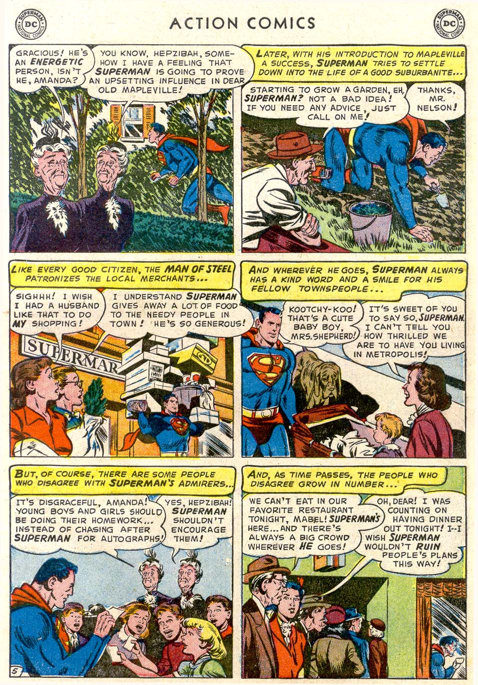 Read online Action Comics (1938) comic -  Issue #179 - 6