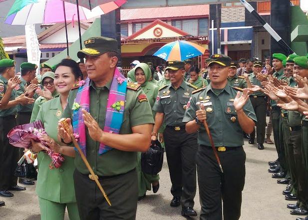 Pangdam, Beri Arahan Kepada Prajurit TNI Di Makodim 1415 Kep. Selayar
