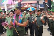 Pangdam Beri Arahan Kepada Prajurit TNI Di Makodim 1415 Kep. Selayar