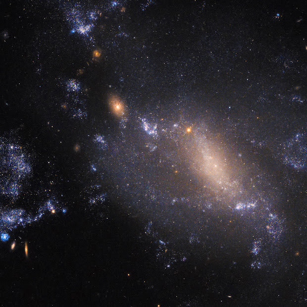Interacting Galaxies NGC 3447