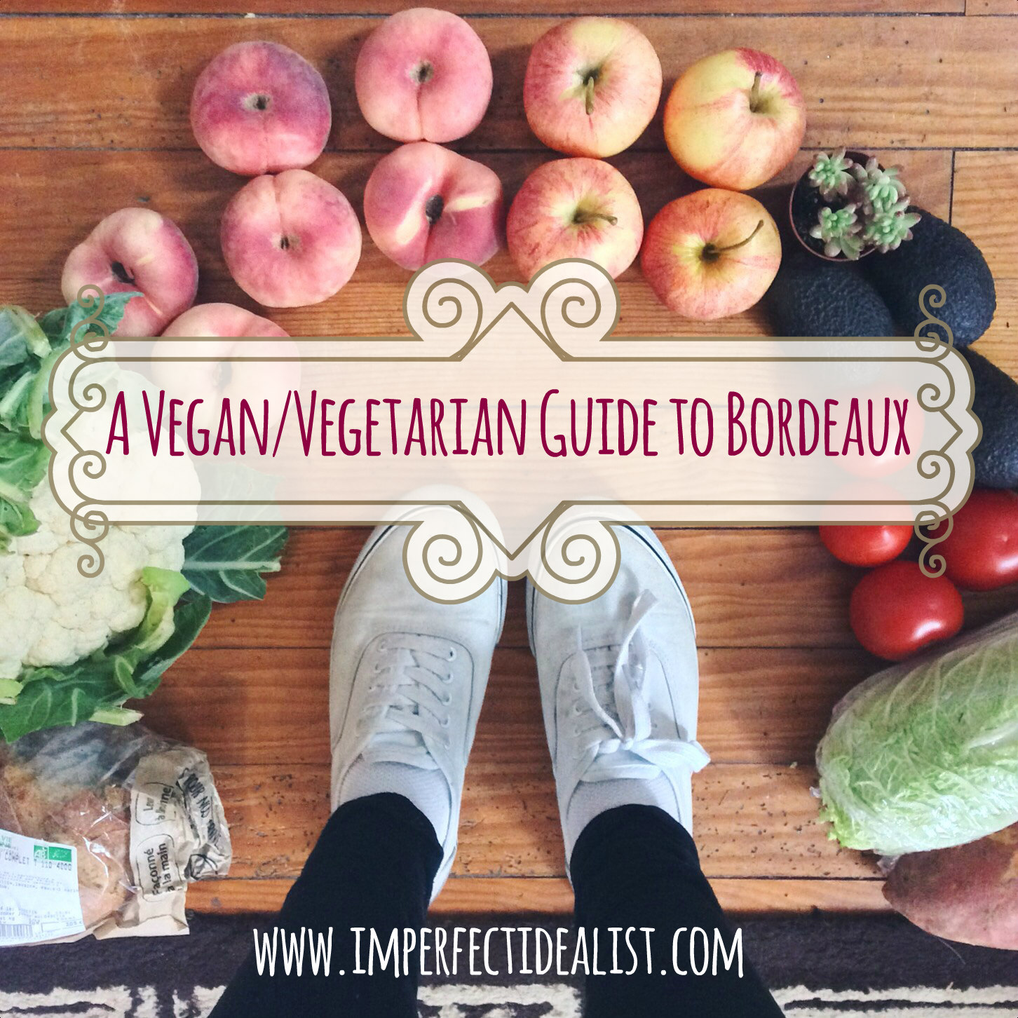 vegan vegetarian guide Bordeaux France