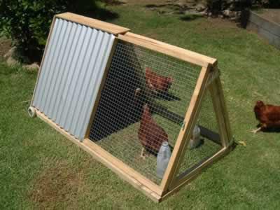 El blog de la elena un blog dulce divertido y for Easy way to build a chicken coop