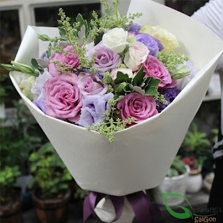 beautiful bouquet at Florist Saigon