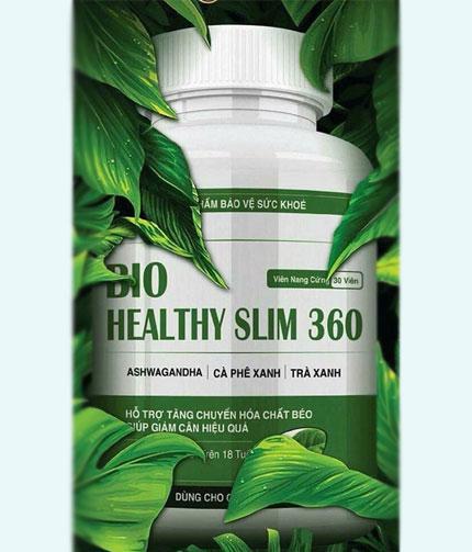 Công dụng của thuốc giảm cân Bio Healthy Slim 360