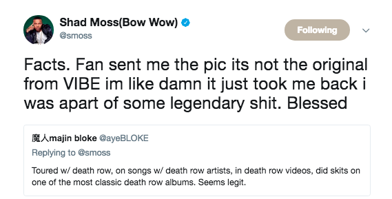 Bow Wow roasted alive on social media for posting a fake Vibe Magazine spread with his face on it