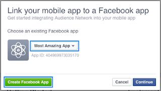 Buat Aplikasi ID Facebook Baru