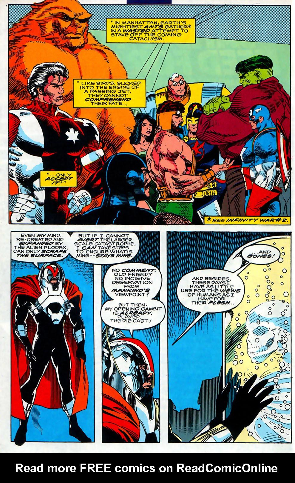 Read online Alpha Flight (1983) comic -  Issue #110 - 5