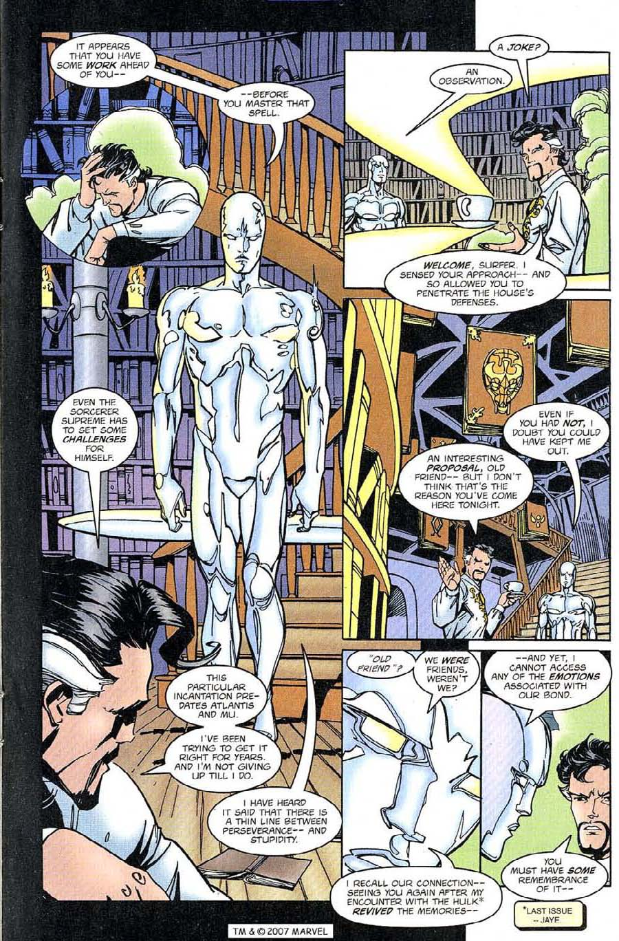 Read online Silver Surfer (1987) comic -  Issue #126 - 13