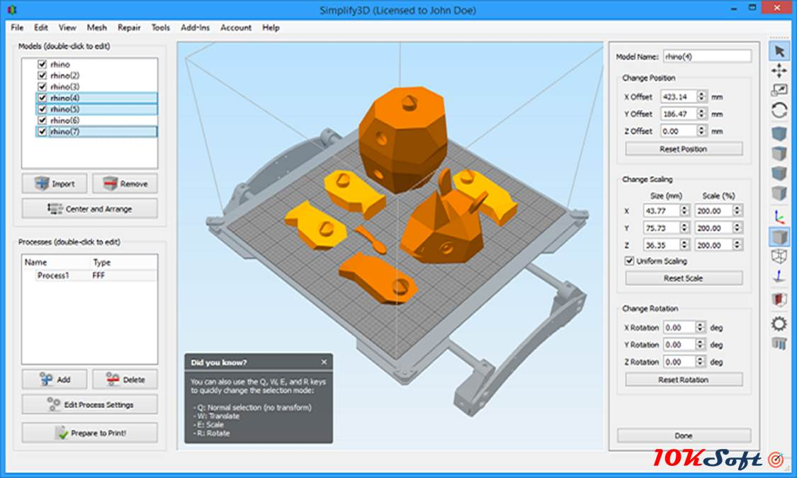 Simplify3D Latest Version Free Download