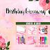 Birthday Giveaway by Wanaseoby.com