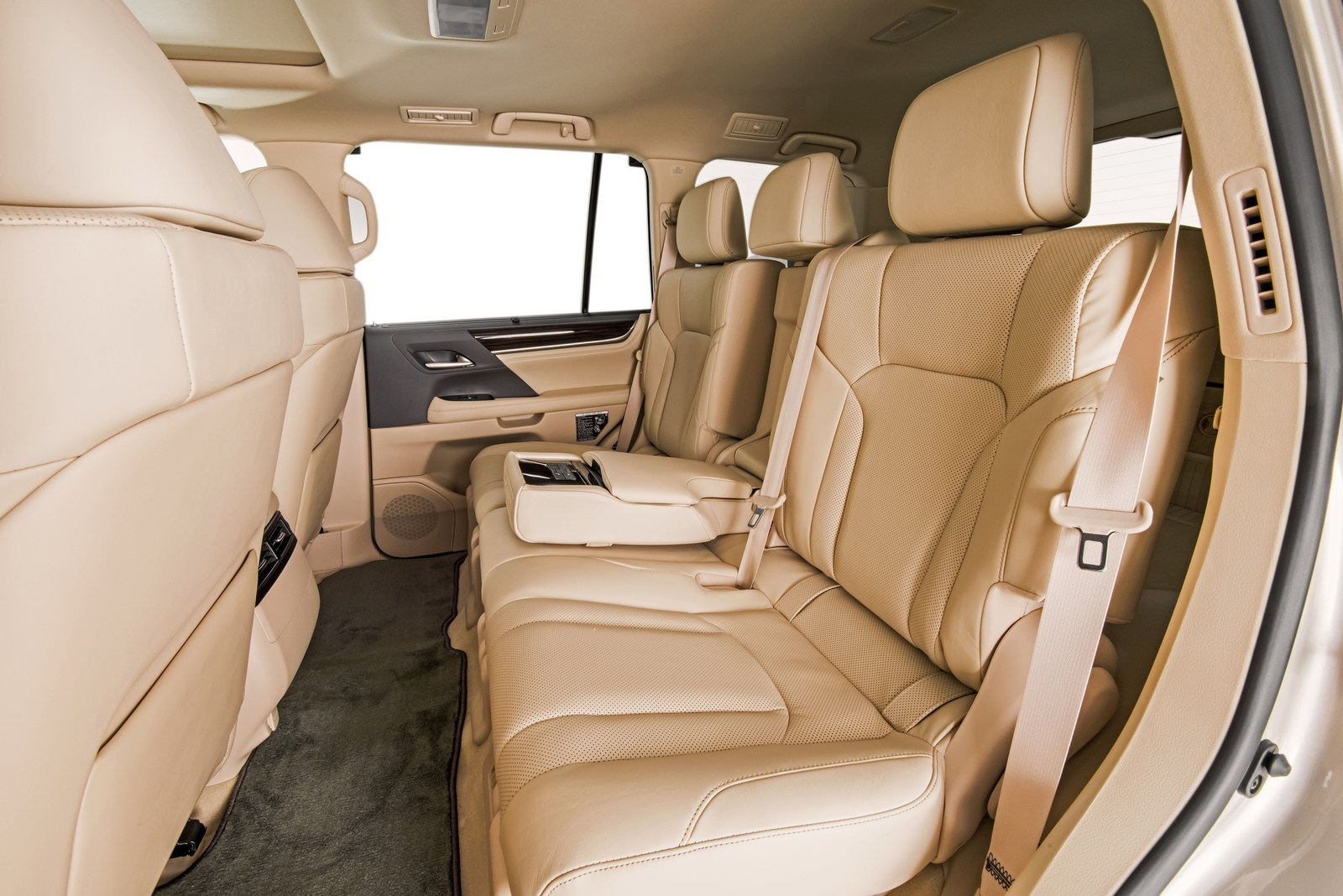 Lexus 7 Seater >> 2018 Lexus LX Gains New Two-Row Variant With Massive 50.6 ...