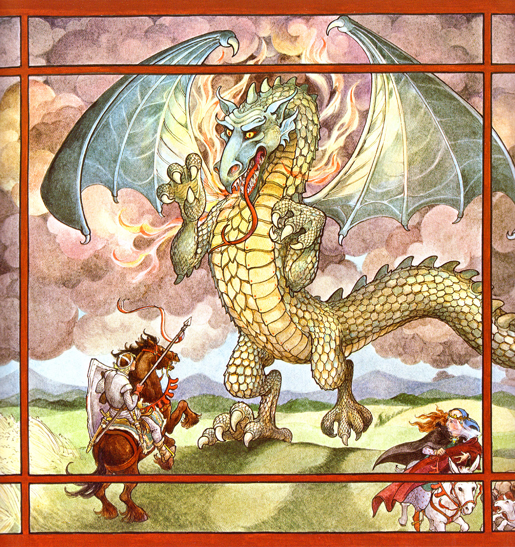 St George Dragons: Tales Of Goldstone Wood: D Is For Dragon