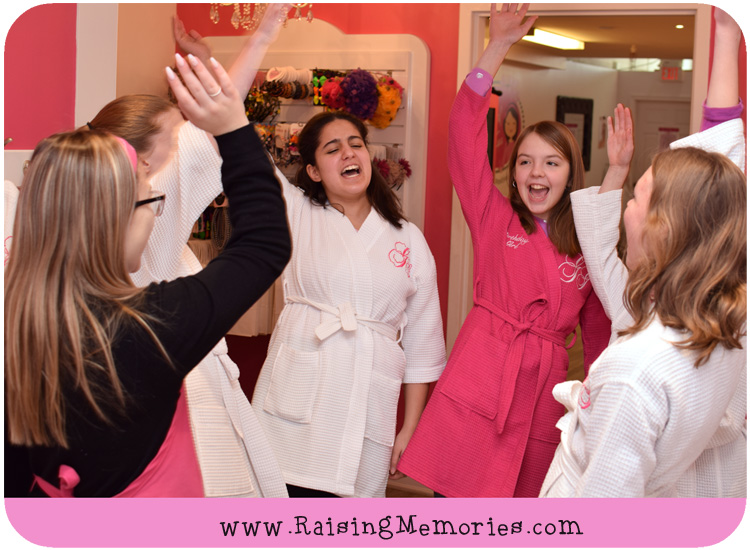 Be You Tween Spa Birthday Party by Glama Gal Spa