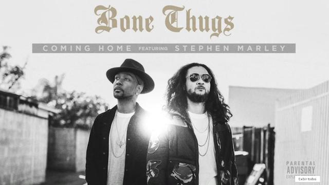 """Com apenas 2 membros, Bone Thugs lança a musica """"Coming Home"""" com part. do Stephen Marley"""