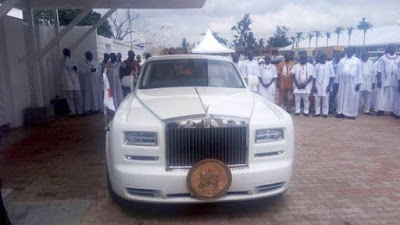 Oba of Benin, Oba Ewuare II acquires the 2016 Rolls Royce Phanton (Photos)