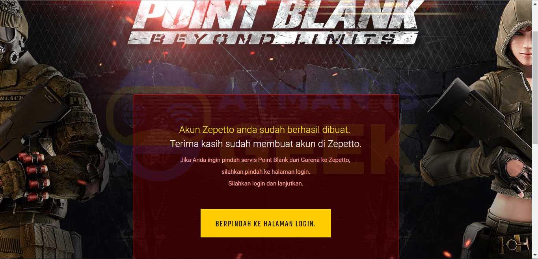 Point Blank garena pindah ke Zepetto  Berikut Cara Transfer
