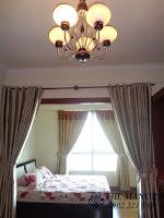 The Manor 2 HCM bán căn hộ block G 36m2 | rèm ở giường ngủ