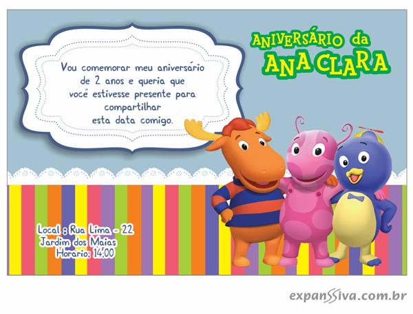 modelos deconvites de aniversario infantil Backyardigans %2B09 - Convites de Aniversário Infantil Backyardigans