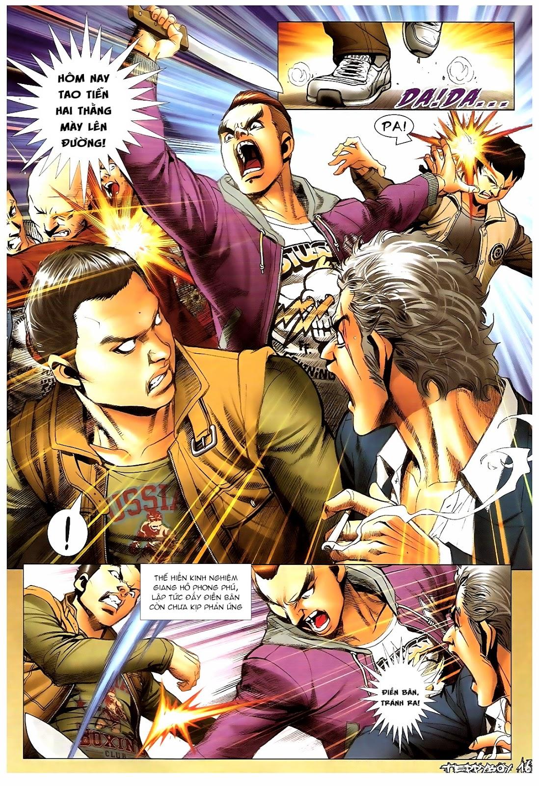 Người Trong Giang Hồ - Chapter 1381: Tự tìm diệt vong - Pic 14