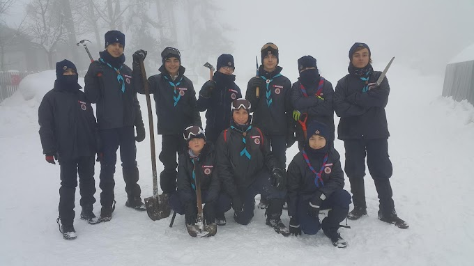 24-31 Ocak 2016 Bolu Milli Mahalli Kış Kampı
