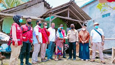 Peduli musibah, FK BPD Pakuhaji kunjungi para korban puting beliung