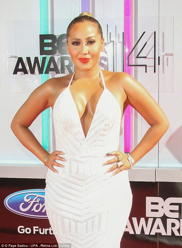 Adrienne Bailon Responds To Kardashian Tweet...Then A Naked Photo Adrienne  Took While Dating Rob Surface