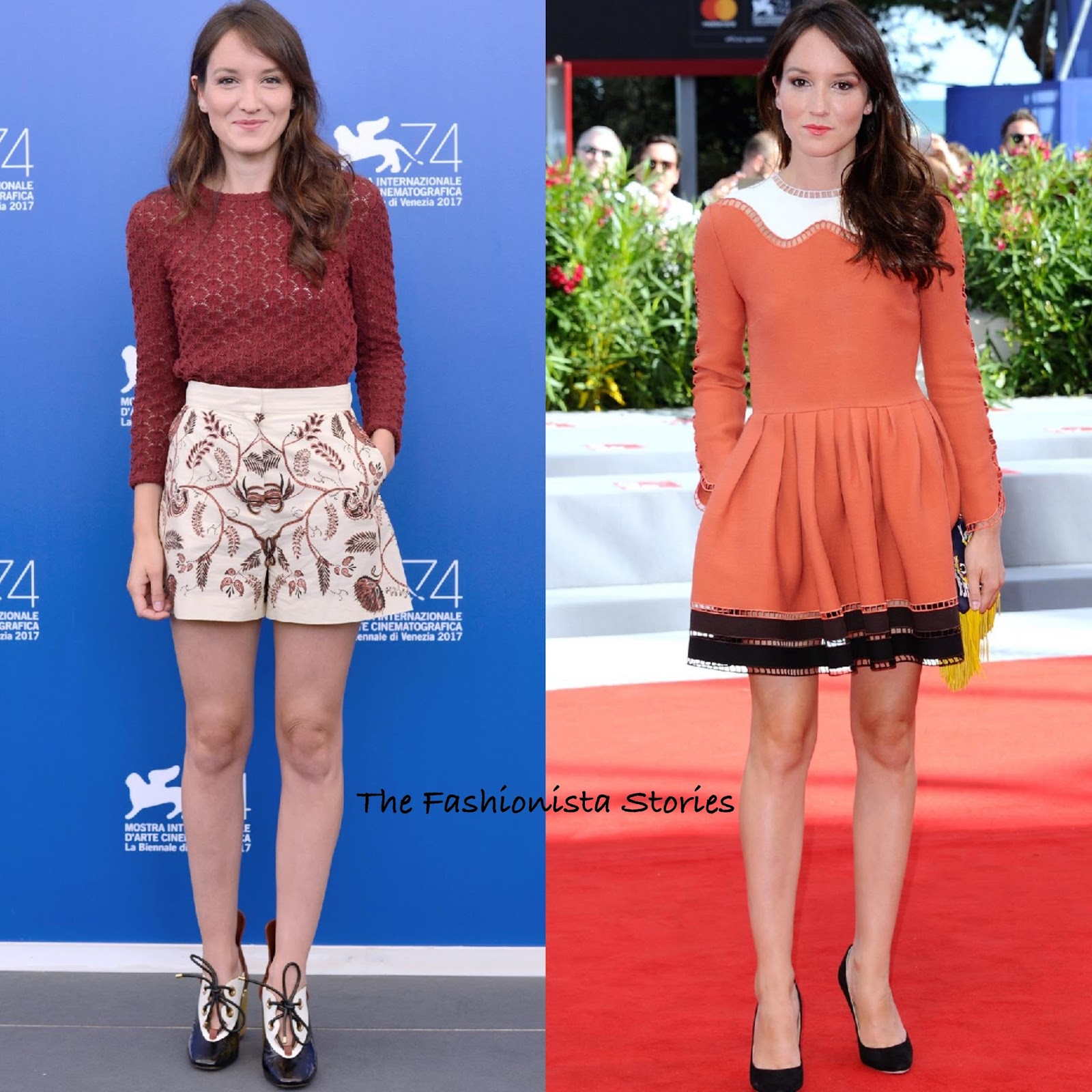 Anais Demoustier anais demoustier in christian dior & fendi at 'the house