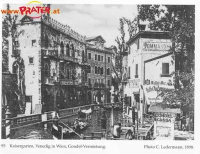 Canale e palazzi veneziani in quel di Vienna