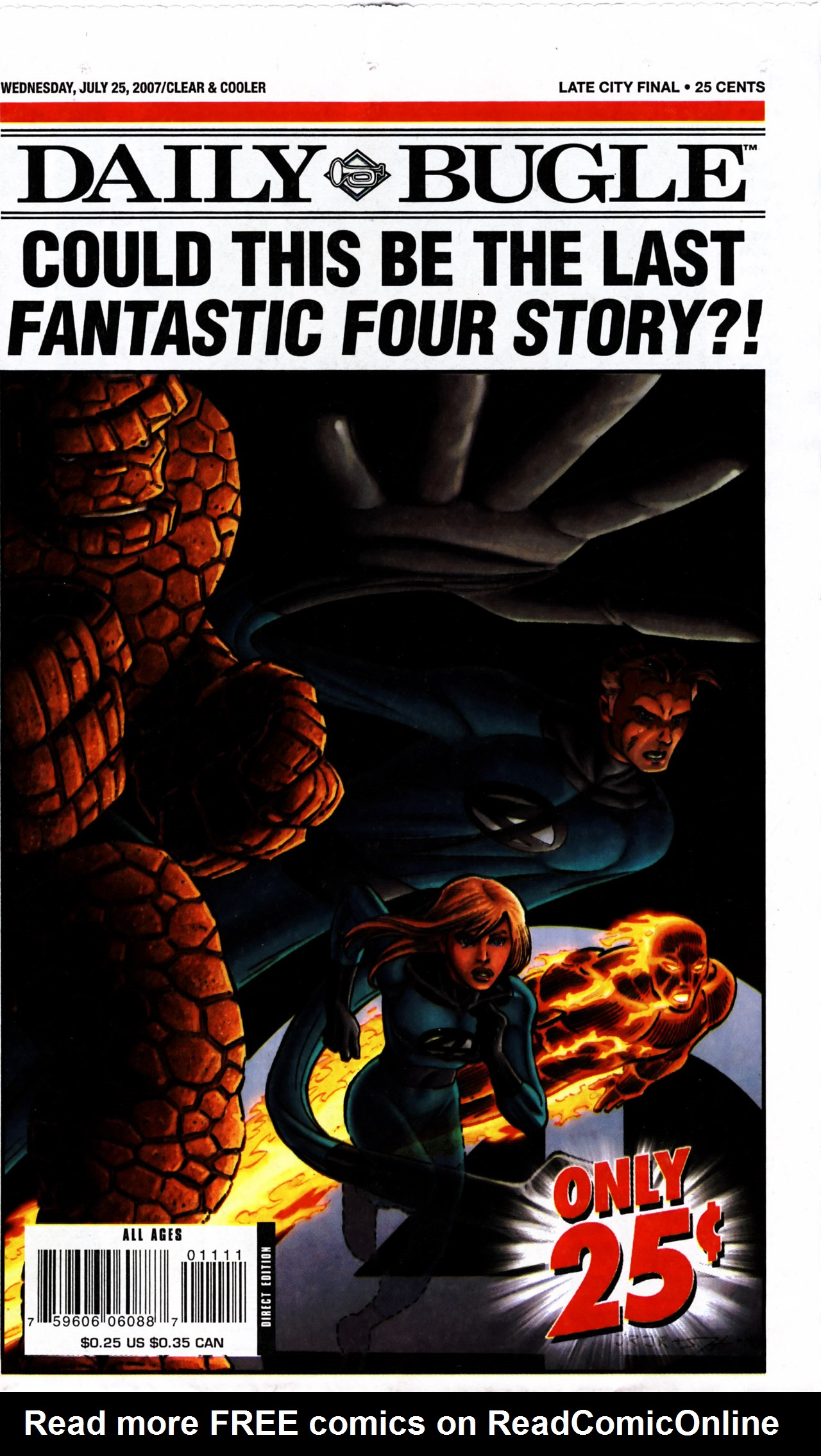 Read online Daily Bugle (2006) comic -  Issue #11 - 1