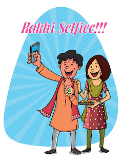 Happy Rakhi Selfie Wishes