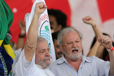 Lula e Stédile