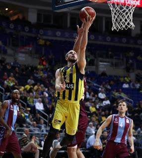 Sinan Güler - Fenerbahçe Doğuş - Trabzonspor
