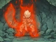 Naruto 1 cola del zorro kyubi