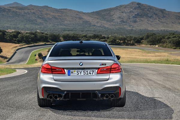 Η νέα BMW M5 Competition