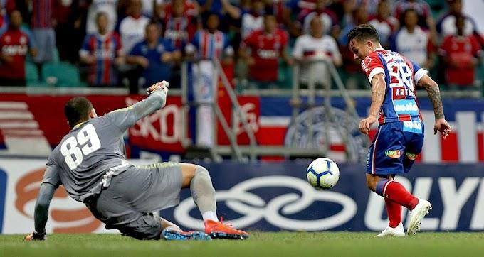 Bahia vence o Avaí por 1x0 pelo Brasileirão na Fonte Nova