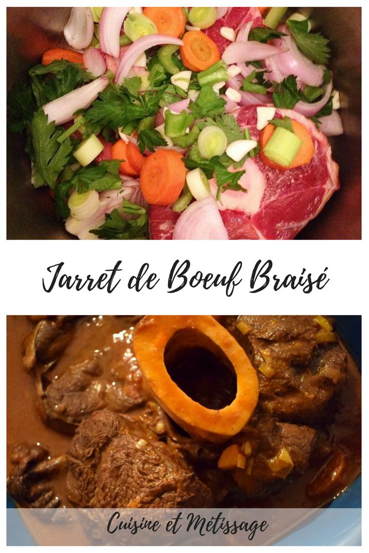 Jarret De Boeuf Cocotte Minute : jarret, boeuf, cocotte, minute, Jarret, Boeuf, Braisé, Cuisine, Métissage