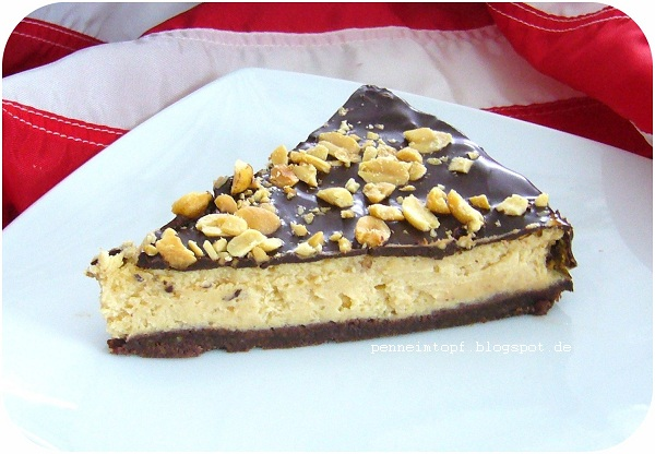 Penne Im Topf Chocolate Peanut Butter Cheesecake Schoko