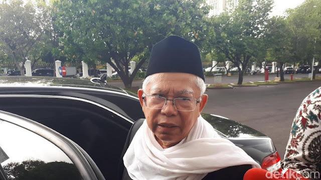 Ketum MUI Bawa Investor Temui Jokowi di Istana