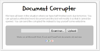 Document Corrupter