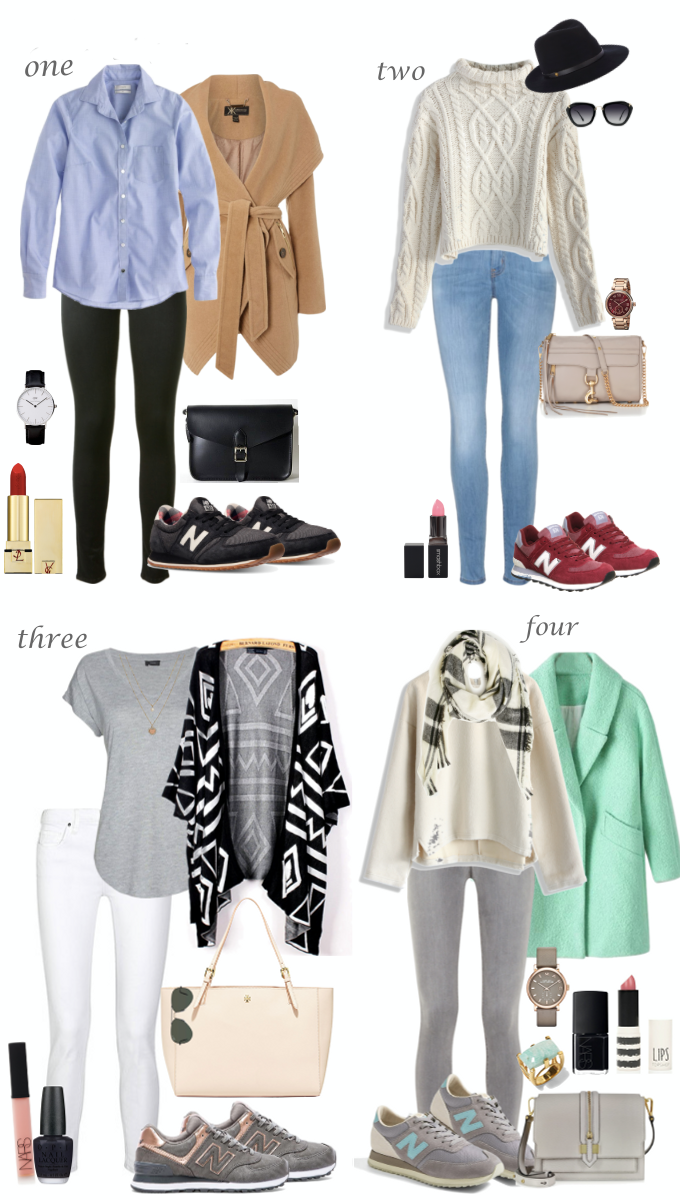 Chic Outfit Ideas With The New Balance Sneakers Lilly Style