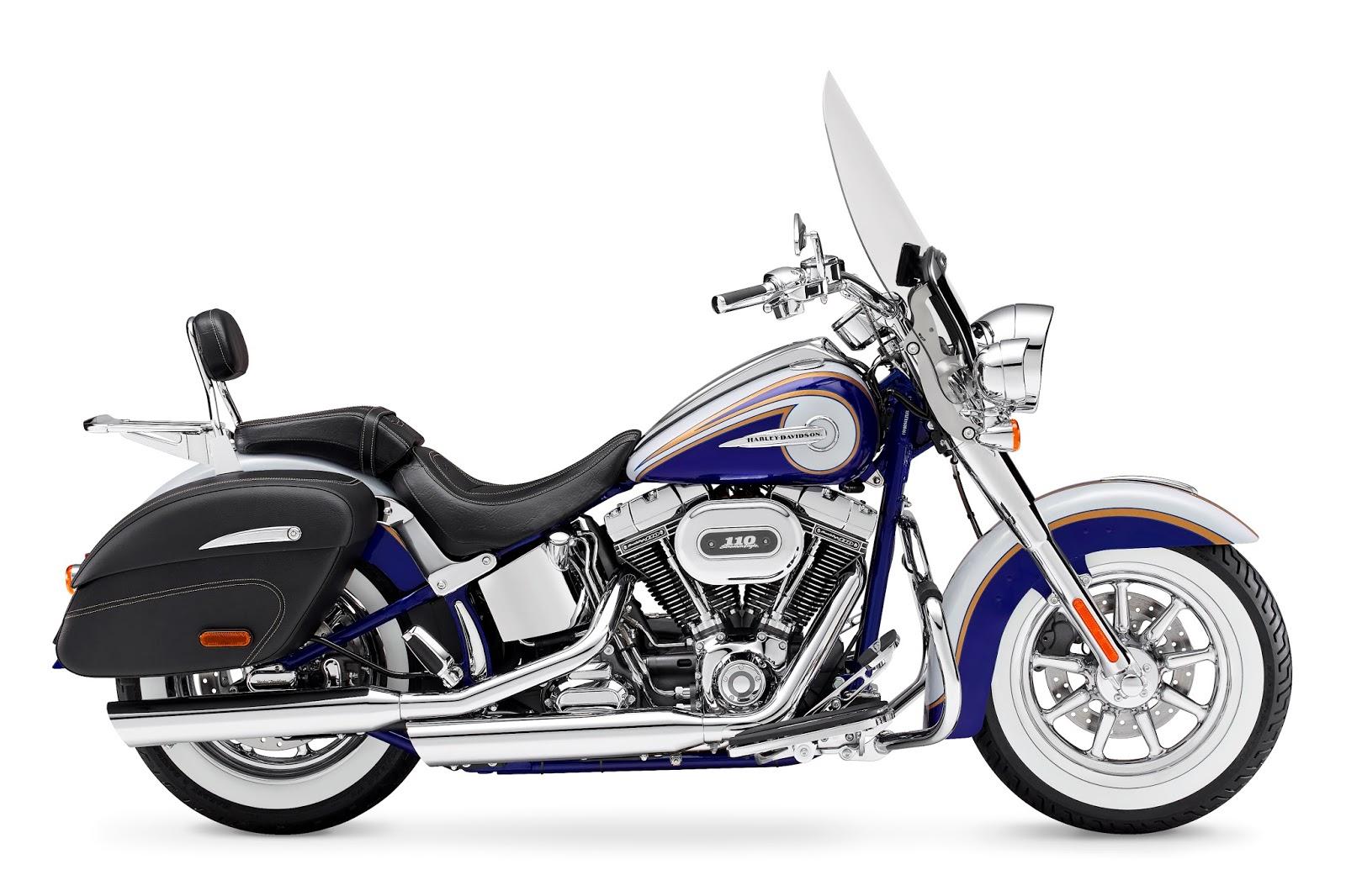 Racing Cafè: HarleyDavidson CVO Softail Deluxe 2014
