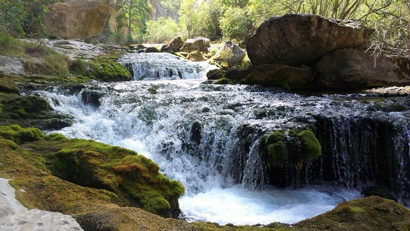 cascada hostal alcorisa teruel