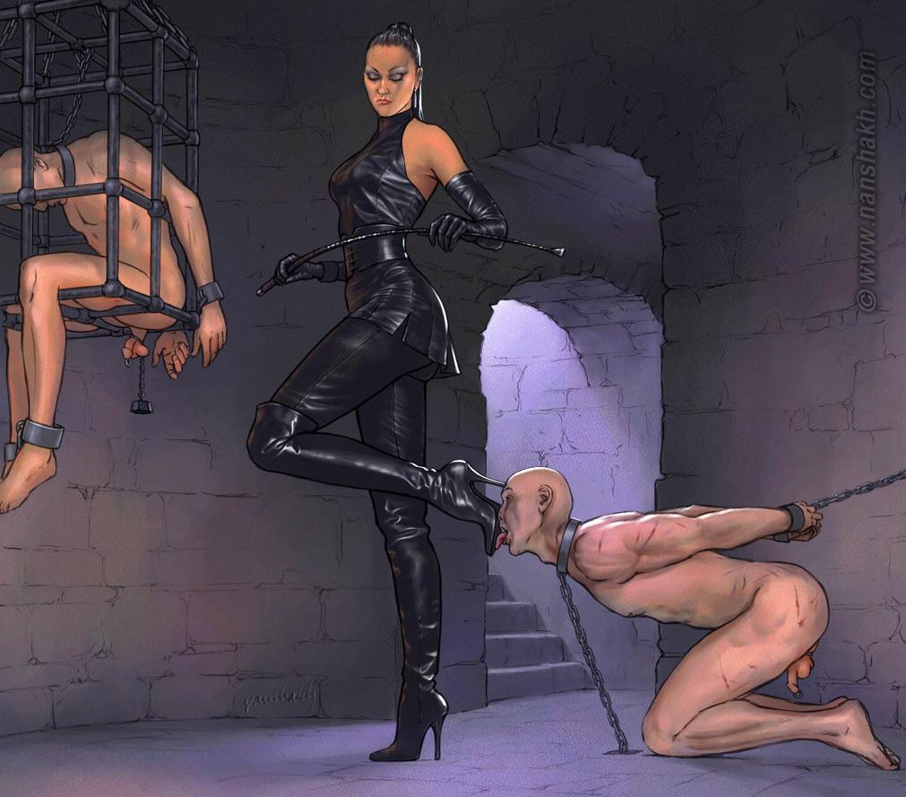 госпожи и красивые рабыни женское доминирование страшные